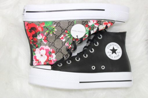 Converse All Star X GG bloom one sided leather - Custom Twinz
