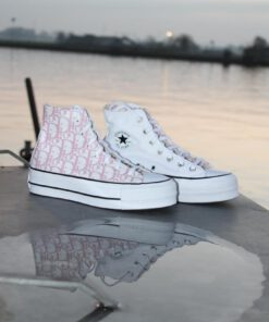 Converse All Star baby pink one sided - Custom Twinz